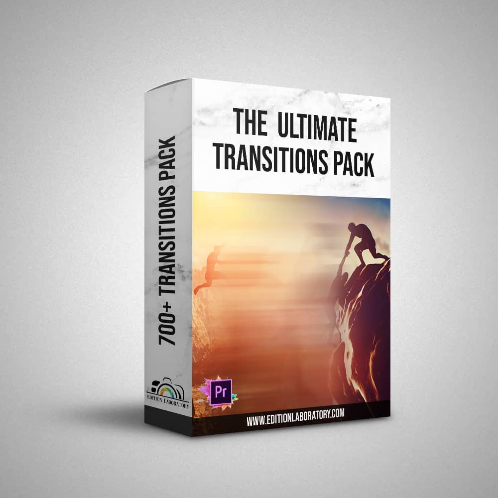 The Ultimate transitions pack (Premiere Pro) - ALL THE SHOP